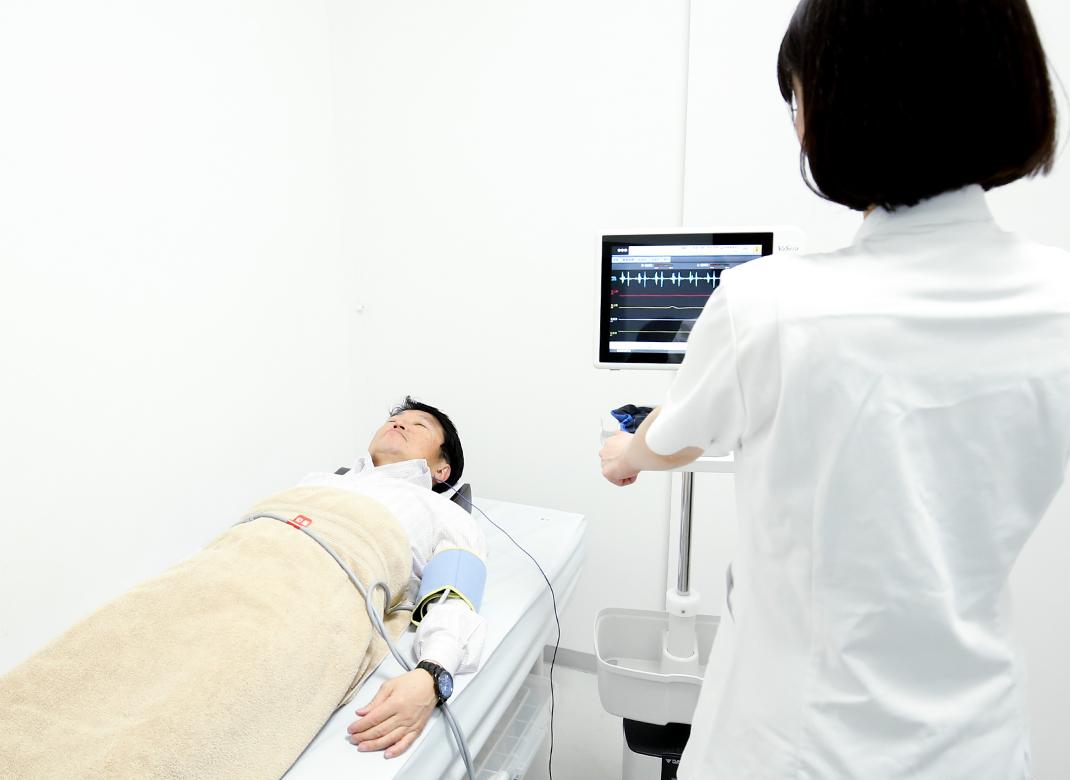 動脈硬化(脈波)検査